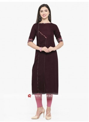 Casual Kurti with Sleeves