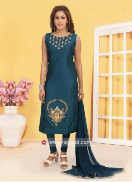 Casual Salwar Suit with Dupatta