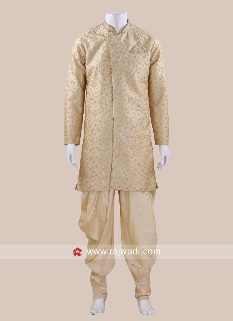 Charming Art Silk Patiala Suit