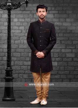 Charming Black Indo Western