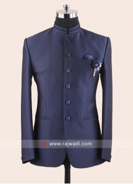 Charming Blue Jodhpuri Suit