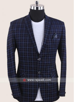 Charming Corduroy Fabric Blazer