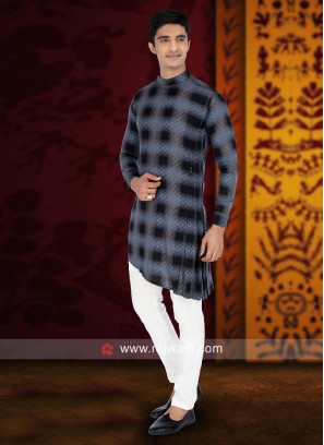 Charming Cotton Pathani Suit