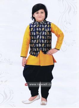 Charming Cotton Silk Nehru Jacket