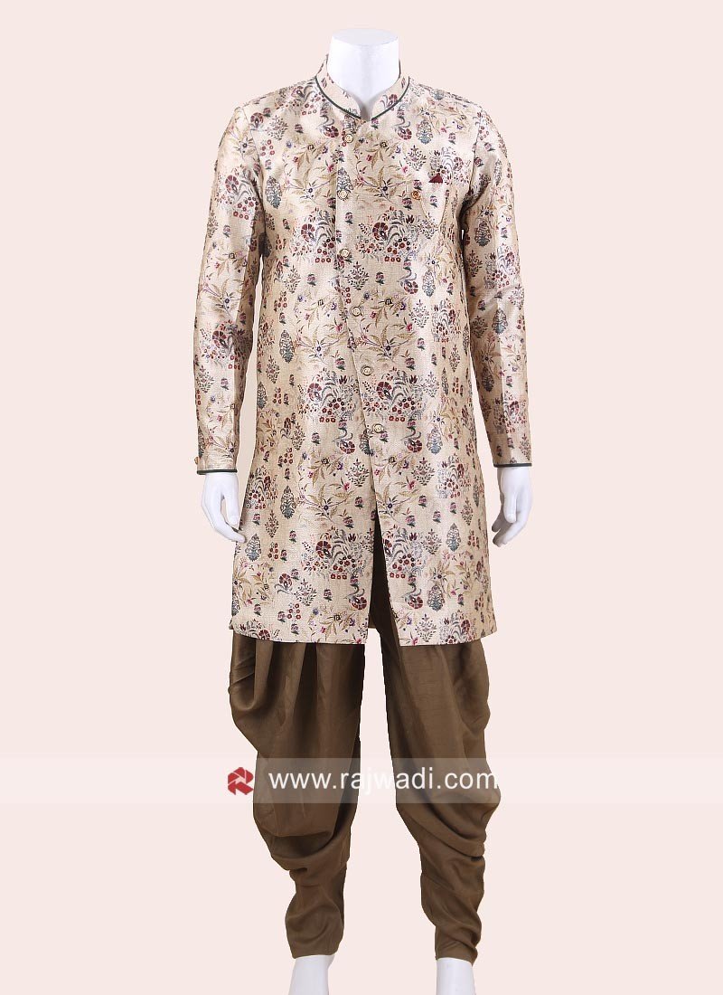 Charming Cream Color Patiala Suit