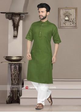 Charming Green Kurta Set