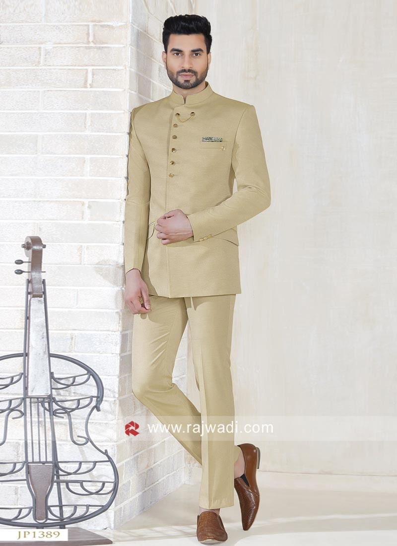 Charming Imported Fabric Jodhpuri Suit