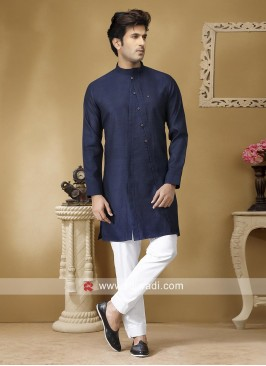 Charming Navy Color Kurta Set