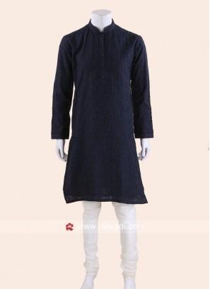 Charming Navy Kurta pajama