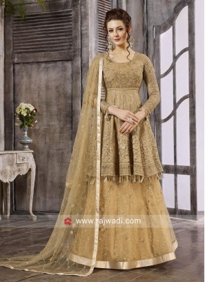 Charming Semi Stitched Embroidered Salwar Suit