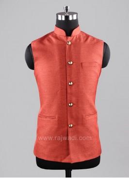 Charming Orange Color Modi Koti