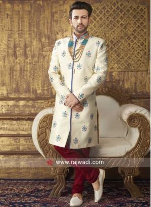 Charming Silk Fabric Sherwani