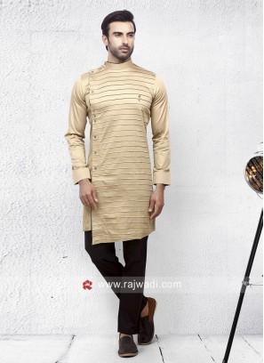 Charming Skin Color Pathani Set