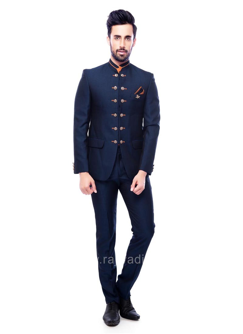 Charming Terry Rayon Fabric Jodhpuri Suit
