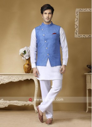 Charming Wedding Wear Nehru Jacket