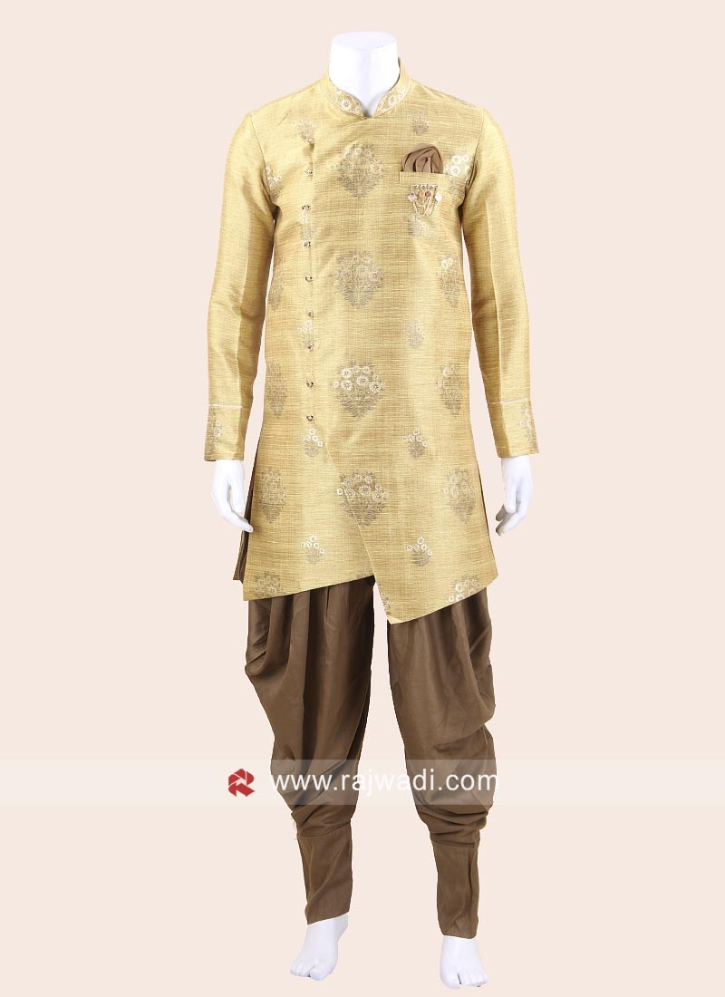 Charming Yellow Indo Western