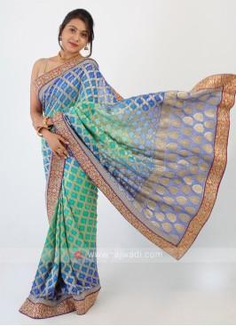 Bandhani Chiffon Saree