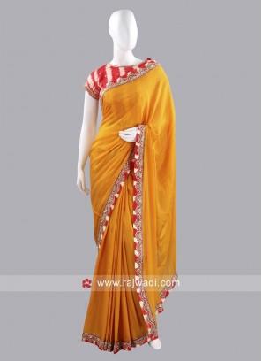 Chiffon Silk Choli Saree