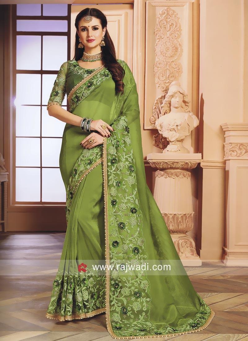 Chiffon Silk Designer Saree