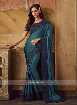 Chiffon Silk Saree for Party