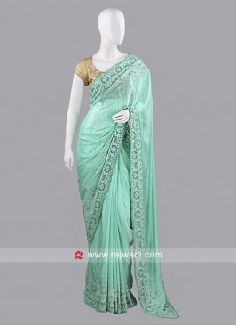 Chiffon Silk Sari with Blouse