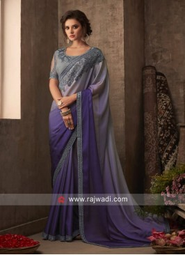 Chiffon Silk Shaded Saree