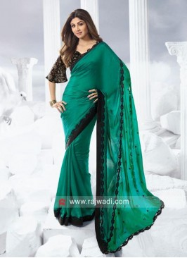 Chiffon Silk Shilpa Shetty Saree