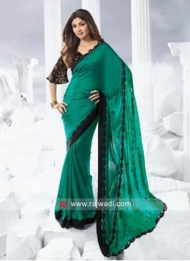 Chiffon Silk Shilpa Shetty Saree