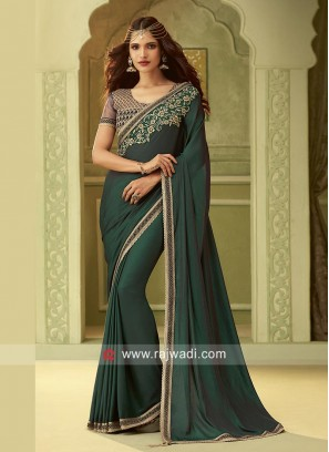 Chiffon Silk Wedding Saree