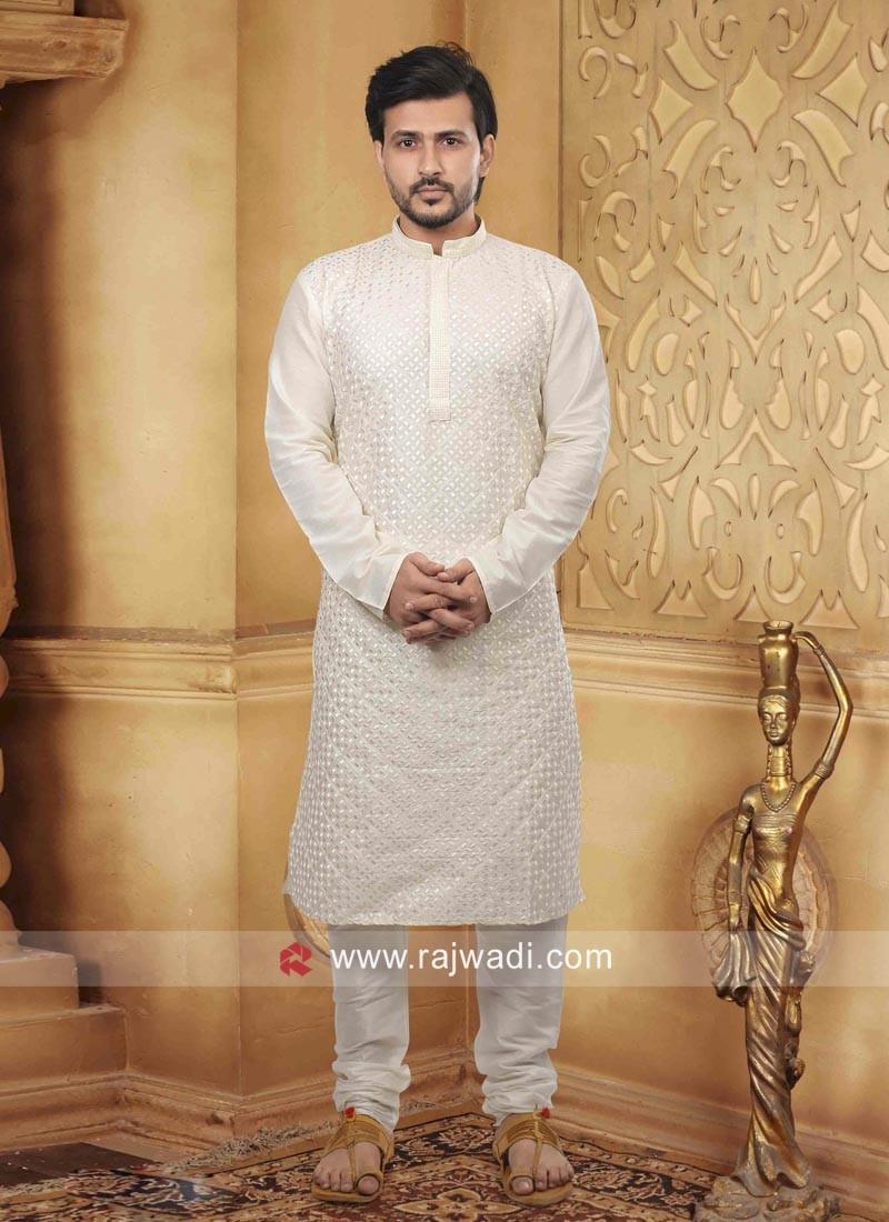 Marvelous White Kurta Pajama