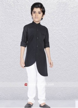 Kurta Pajama In Black Color