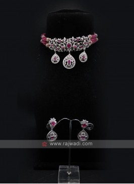 Choker Style Necklace Set