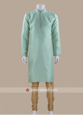 Classic Brocade Silk Kurta Pajama