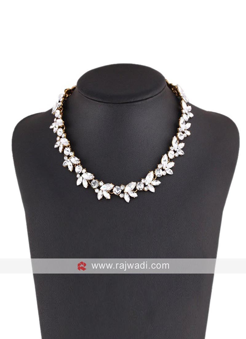 Classic Crystal Statement Collar Necklace