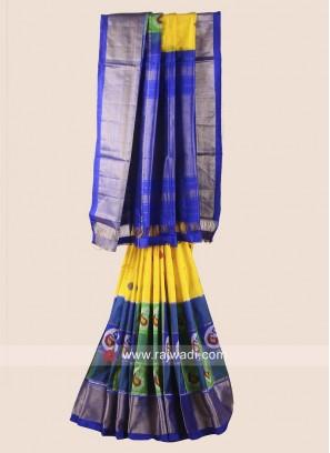 Classic Zari Weaved Patola Saree