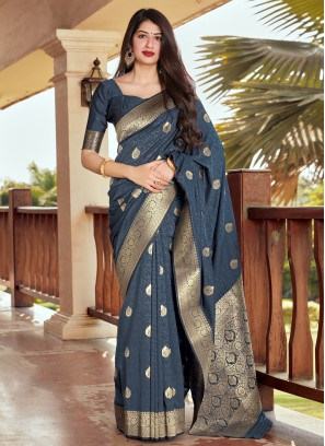 Classical Silk Traditional Designer Saree