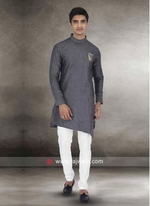 Classy Linen Fabric Kurta Set