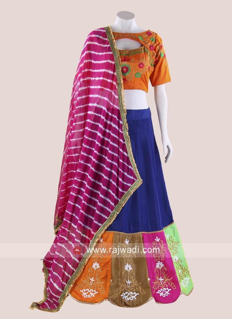 Colourful Gujarati Chania Choli