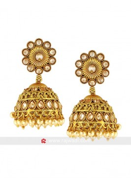 Copper Gold Plated Earrings