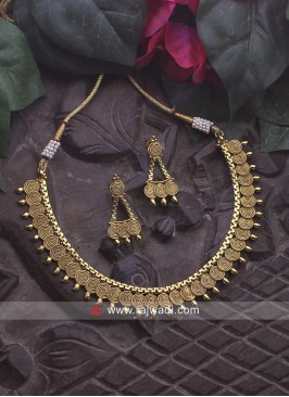 Copper Necklace Set in Golden