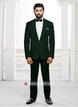 Corduroy Fabric Suit For Party