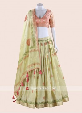 Cotton Choli suit for Party