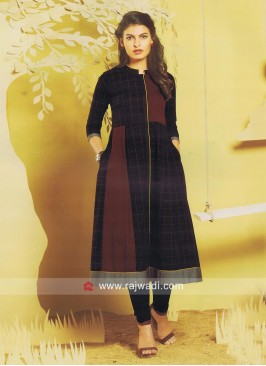 Cotton Checks Kurti
