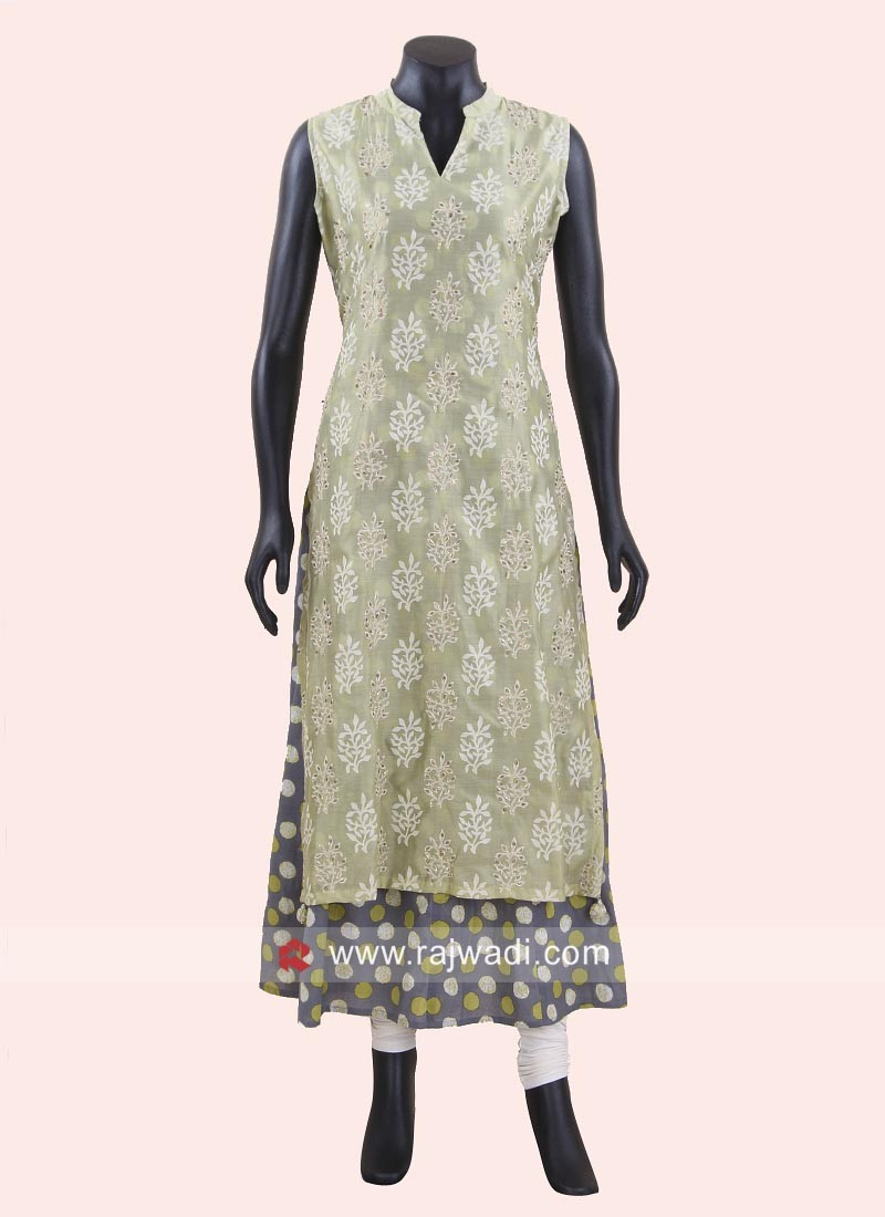 Cotton Double Layered Kurti