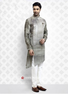 Cotton fabric Pathani Suit for Party