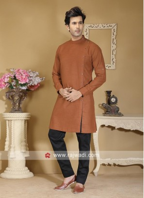 Cotton Fabric Peru Color Kurta Set