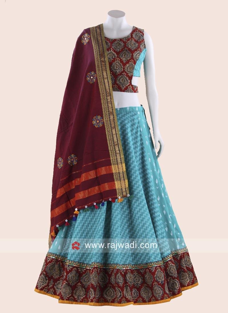 Cotton Festive Wear Chaniya Choli