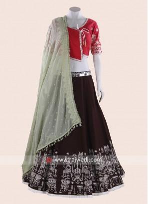 Cotton Kediya Style Navratri Chaniya Choli