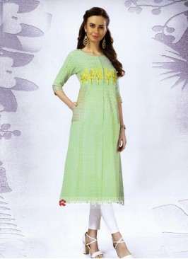 Cotton Kurti with Side Pocket