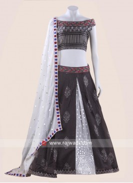 Cotton Kutchi Work Chaniya Choli